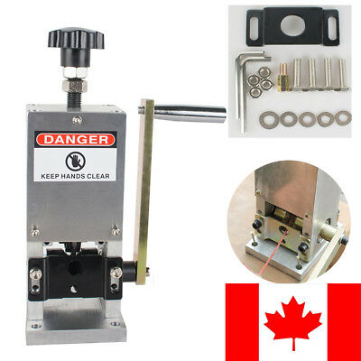 CA Manual Wire Stripping Machine Copper Cable Peeling Stripper W/Drill Connector