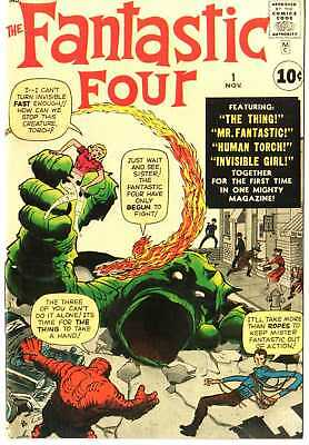 Fantastic Four 1 Custom Made Cover with 1960'S REPRINT