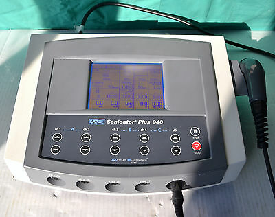 Mettler Sonicator Plus 940 Ultrasound Therapy System