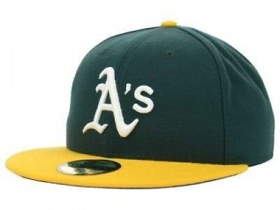 (7 1/2) - New Era Oakland Athletics MLB Authentic Collection 59FIFTY On Field
