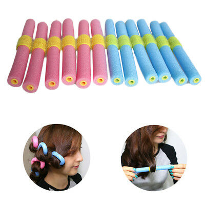 Soft Hair Curler Roller Styling DIY Sponge Pearl Cotton Hair Hairdressing Tools