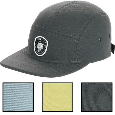 competitive price 95fcb 3881f Hurley Men s Dri-FIT Coastal Wolf Adjustable 5 Panel Camper Hat Cap