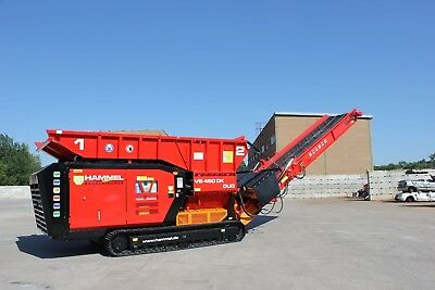 Hammel Shredder 750 D steel wire reinforcing Chevron BRAND NEW CONVEYOR BELT