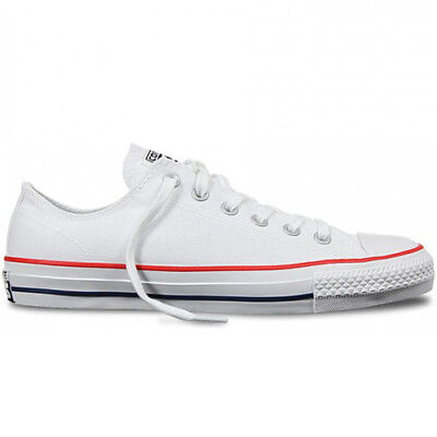 New CONVERSE CHUCK TAYLOR ALLSTAR PRO LOW WHITE RED BLUE