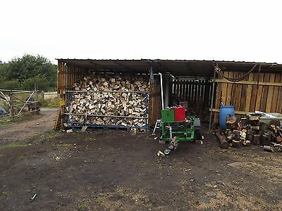 log splitter hire with operator firewood