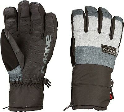 (Medium, Heather Carbon) - Dakine Men's Omega Gloves. Delivery is Free