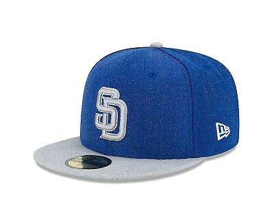 (San Diego Padres, 7.125) - MLB Heather Action 59FIFTY Fitted Cap. New Era