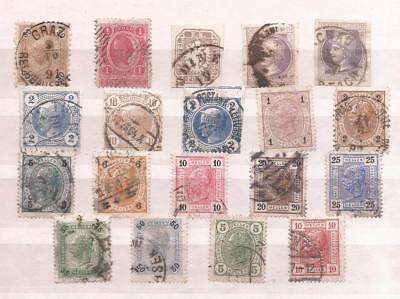 Osterreich  (  Austria  )   -  1891/1907   -  Lot Of Old Stamps