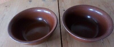 2 X Pearson of Chesterfield Vintage Bowl
