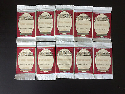 Magic MTG Fallen Empires 10x Booster Packs sealed 24 years old! www_MoxBeta_com