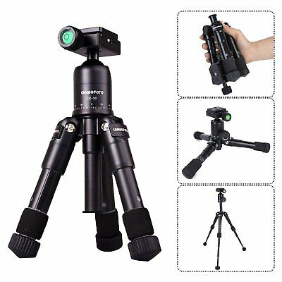 Mini Tripod Travel Selfie Desktop Table Tripod Portable Tripod for DSLR Camera