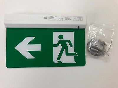 LED Emergency Exit Sign Ceiling/Wall Mounted Hanging Sign