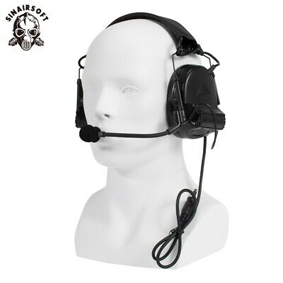 Tactical Headset Airsoft Comtac II Type Noise Reduction Headphone Earphone Z041