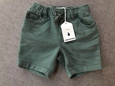 Country Road Boys Hybrid Pull On Shorts Size 2 Years RRP$49.95