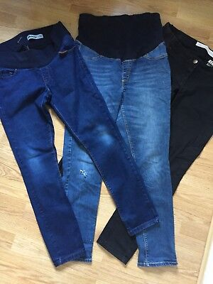 Maternity Jeans Bundle Size 12 New Look, Next And Mamas And Papas