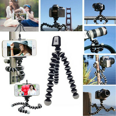 New Camera Cam DSLR SLR Flexible Tripod Gorilla Octopus Mount Stand Holder S/M/L