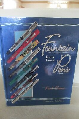 Identification & Value Guide Fountain Pens Past & Present HC Reference Book 1999
