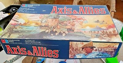 Axis and Allies WWII 1942 board game 1984 as new never used Milton Bradley&Co