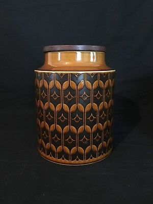 Hornsea Heirloom Large Canister - Vintage 70's