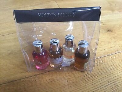 Molton Brown Body Wash Gift Bag - New - 4 50 ml bottles