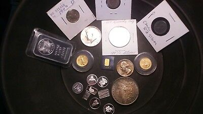 1 Oz top secret  Gold Paydirt nuggets flakes ore silver bullion
