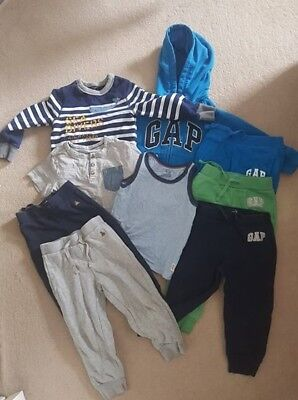 Baby Gap Boys Clothes Bundle, 3 Years, 9 Items, Good Condition