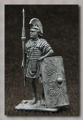 """Tin soldiers """"Ancient Rome"""" (54 mm, 1/32) # A 174 Roman legionary 1 century ad"""