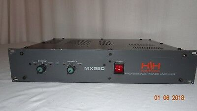 HH Electronic MX250 Professional Power Amplifier