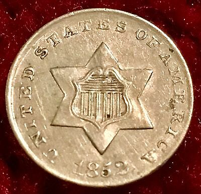 1852 3-Cent Silver