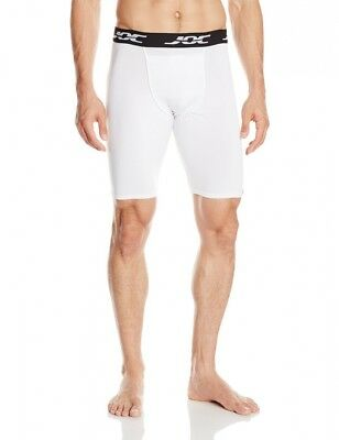 (Youth Medium, White) - WSI Men's Ultrajoc Lite Slider Shorts. Delivery is Free