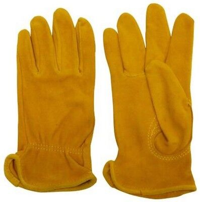 (Medium) - Split Deerskin, Rough Out Glove. TUFF MATE INC. Shipping Included