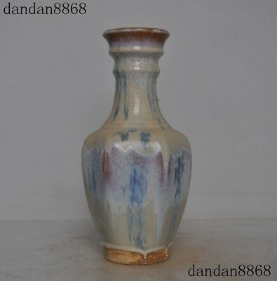 Chinese Tang Dynasty Old Blue White Porcelain Glaze Zun Cup Bottle Pot Vase Jar