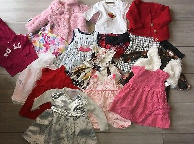 0-6 months Baby Girls Clothes Bundle