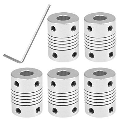 YOTINO 5PCS Couplages flexibles 5mm à 8mm NEMA 17 Arbre Stepper Moteur Cou ...