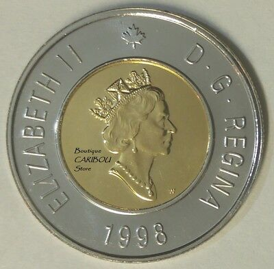 1998 W Canada Proof-Like Winnipeg Toonie
