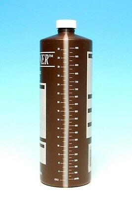 Photo Darkroom Chemical Bottle - Delta 1 Datatainer 32 OZ / 950 ML