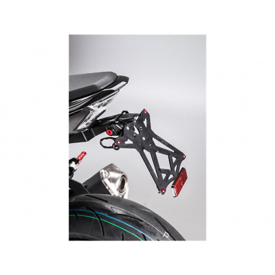 Support de plaque noir kawasaki z900 Lightech TARKA123