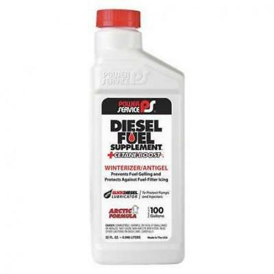 POWER SERVICE PRODUCTS 1025 Diesel Fuel Supplement,Amber,32 oz. G5573246