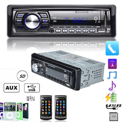 Cd New Bluetooth Digital With In-dash Player Receiver Radio Stereo Car Audio