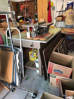 Vintage Industrial 1960's  Metal Architects Drafting Table For Your Urban Loft