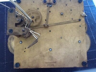 URGOS Eight Day Westminster chimes Mantel Clock Movement, spares ,repair