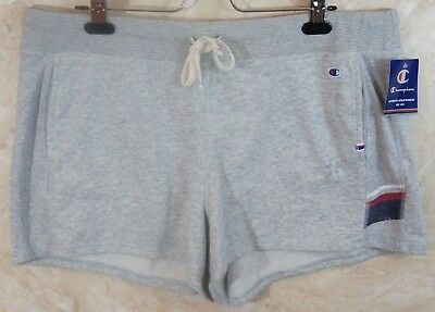 cf2bf6447fef CHAMPION WOMEN S HERITAGE French Terry Shorts Sizes M