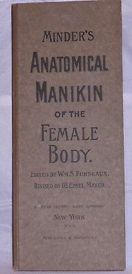 Dr. Minder's Anatomical Manikin of the Female Body Circa 1900