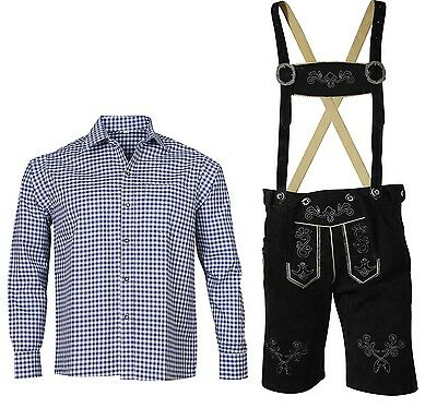 Traditional Costume Set Bavarian short Leather Pants Costume Trousers
