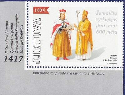 Lithuania 2017 * 600th Anniversary of Samogitia Diocese * MNH