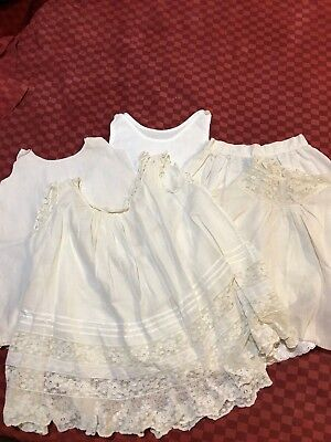 Antique Vintage Baby Slips and part of Gown