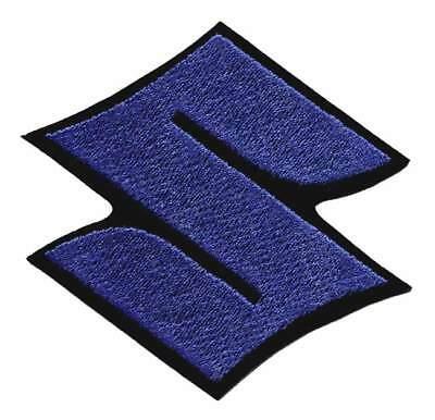 Suzuki S Embroidered Blue Patch - Suzuki - Hayabusa - GSXR