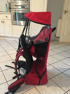 baby and toddler Hiking backpack carrier hardly Used