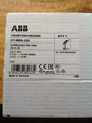 Abb 1Svr730010R3200 Multifunction Time Relay - New And Unused