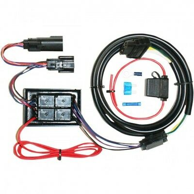 Harness trailer wiring kit 5-4 wire convertor plug and pl... Khrome werks 720752
